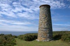 Mines argentées historiques dans Sark Photos libres de droits