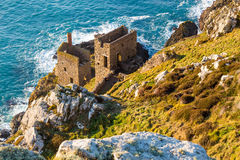 Mines at Botallack Cornwall Stock Photography