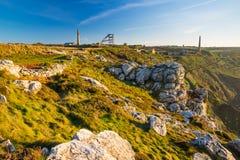 Mines at Botallack Cornwall Royalty Free Stock Photos