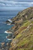 Mines de couronne près de Botallack les Cornouailles, R-U Images libres de droits