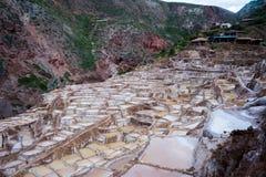 Mines de sel, Pérou Image libre de droits