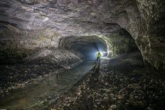 Mines souterraines L'Ukraine, Donetsk Photos libres de droits