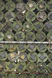 Mines terrestres enlevées des terres du Cambodge Photo libre de droits