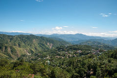 Mines View Park scenery. Mines View Park is abandoned gold mine, become  to be an attraction point at Baguio, Philippine Stock Image