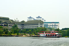 The Mines Waterfront Business Park, Malaysia.  Royalty Free Stock Photography