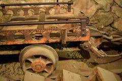 mineshaft Royaltyfri Fotografi