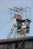 Mineshaft (Zabrze no Polônia) Imagem de Stock Royalty Free