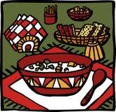 Minestra royalty illustrazione gratis
