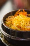 Minestra coreana piccante Immagine Stock