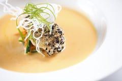 Minestra del dolce del seasame nello stile cinese in Asia Fotografia Stock Libera da Diritti