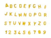 Minestra della lettera immagini stock libere da diritti