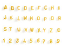 Minestra della lettera Immagine Stock