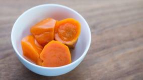 Minestra della patata dolce Minestra asiatica del dessert di stile immagine stock libera da diritti