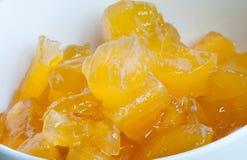 Minestra della patata dolce Minestra asiatica del dessert di stile fotografia stock libera da diritti