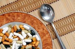 Minestra delle vitamine Immagini Stock Libere da Diritti