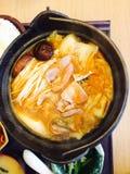 Minestra di Kimchi Immagini Stock