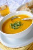 Minestra di lenticchia & della carota Immagine Stock Libera da Diritti