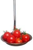 Minestra fresca del pomodoro Fotografia Stock Libera da Diritti