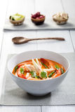 Minestra tailandese del Tom Yum Immagine Stock