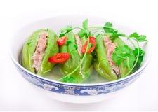 Minestra vegetariana tradizionale asiatica fotografie stock