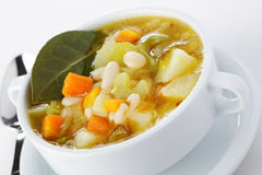 Minestrone Foto de Stock Royalty Free