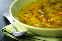 Minestrone Stockfotos
