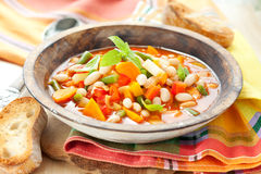 Minestrone Stockbild