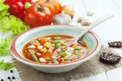 Minestrone Royalty Free Stock Photos