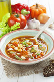 Minestrone royalty free stock photo