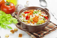 Minestrone stock photography