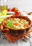 Minestrone royalty free stock images