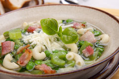 Minestrone soup Stock Photo