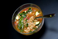 Minestrone Soup Royalty Free Stock Images