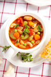 Minestrone soup Stock Image