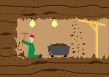 Mineur dans le travail Photo libre de droits