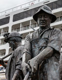 Mineurs d'Alaska Photographie stock