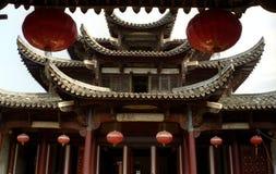 ming朝代的豪宅 库存图片