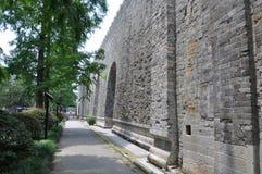 ming的南京宫殿废墟 免版税库存图片