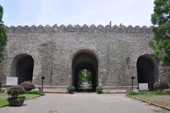 ming的南京宫殿废墟 免版税库存照片