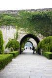 Ming City Wall av den Nanjing Zhonghua porten Royaltyfri Foto