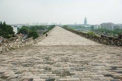 Ming City Wall da porta de Nanjing Zhonghua Fotografia de Stock Royalty Free