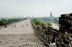 Ming City Wall da porta de Nanjing Zhonghua Imagens de Stock Royalty Free