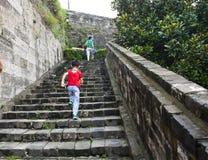 Ming City Wall de porte de Nanjing Zhonghua Images libres de droits
