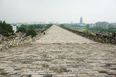 Ming City Wall of Nanjing Zhonghua Gate Royalty Free Stock Photography