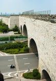 Ming City Wall von Tor Nanjings Zhonghua Lizenzfreie Stockfotografie