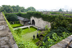 Ming City Wall von Tor Nanjings Zhonghua Lizenzfreie Stockbilder