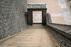 Ming city walls, Beijing, China Royalty Free Stock Photography