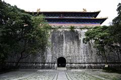 Ming dynastiport Arkivfoto