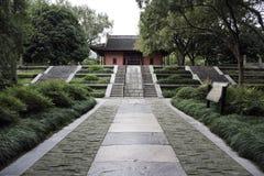 Ming dynastitempel Arkivfoto