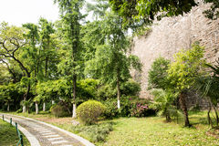 Ming Dynasty City Wall stock foto's
